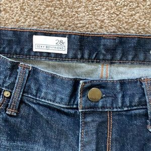 GAP Jeans - Gap 1969 Dark Wash Sexy Boyfriend Jeans